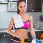 Essen und Trinken für einen starken Rücken
