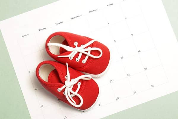 1 Schwangerschaftswoche - Zeit bis zur Geburt