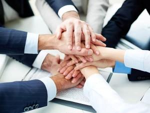 gemeinsames Arbeiten - Teamwork