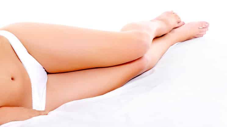 Wie bekomme ich glatte Beine?