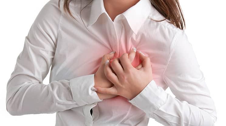 brustschmerzen in den wechseljahren