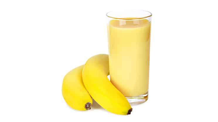 Bananen Trauben Smoothie