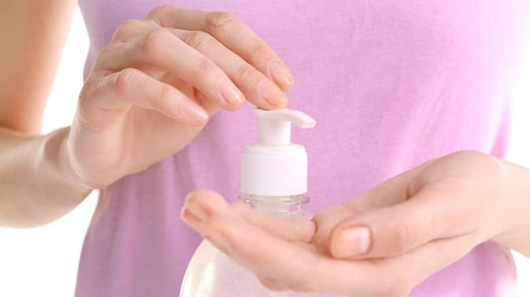 Hände weg: antibakterielle Seife
