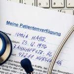 Mit einer Patientenverfügung für den Ernstfall vorsorgen