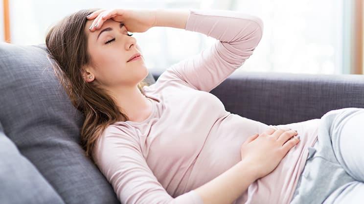Schmerzen beim Eisprung und was Frauen dagegen unternehmen können