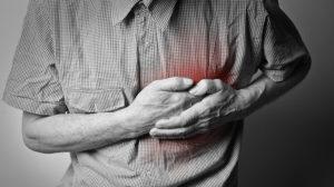 Rechten brust stechen leichtes in der Brustschmerzen