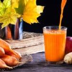 Karotten Ingwer Smoothie mit Limetten
