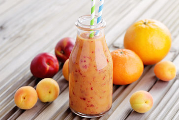Orangen Nektarinen Smoothie