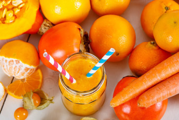 Orangen Power-Smoothie