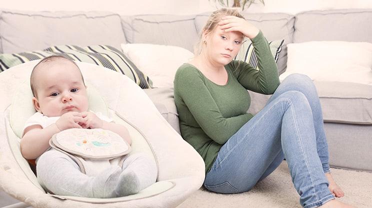 Nur der Baby-Blues oder doch eine richtige Wochenbettdepression?