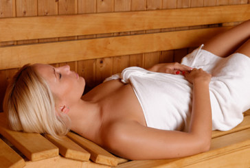 In der Sauna für die Gesundheit schwitzen