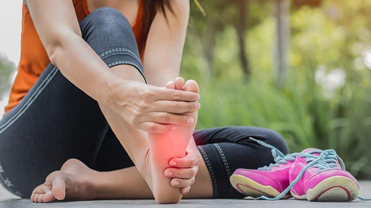 Probleme mit den Füßen und wie man sie verhindern kann