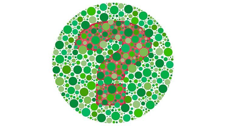 Wie lernen Farbenblinde die Anatomie?