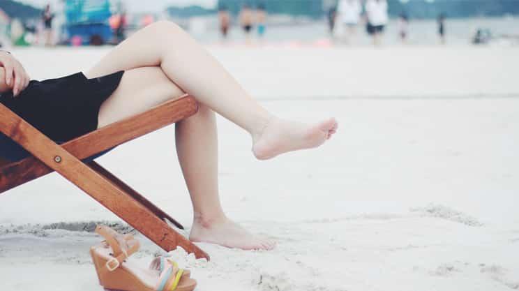 Gesunde, gepflegte und schöne Füße
