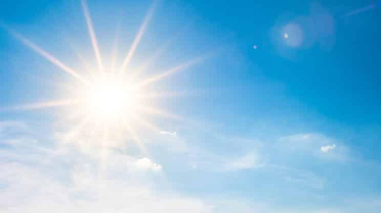 Sonnenstichgefahr